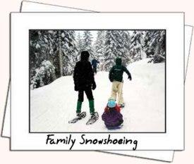family-snowshoe